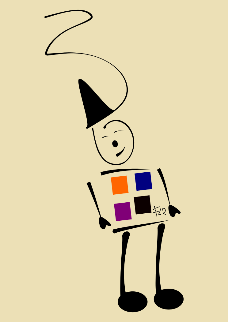 Square clown